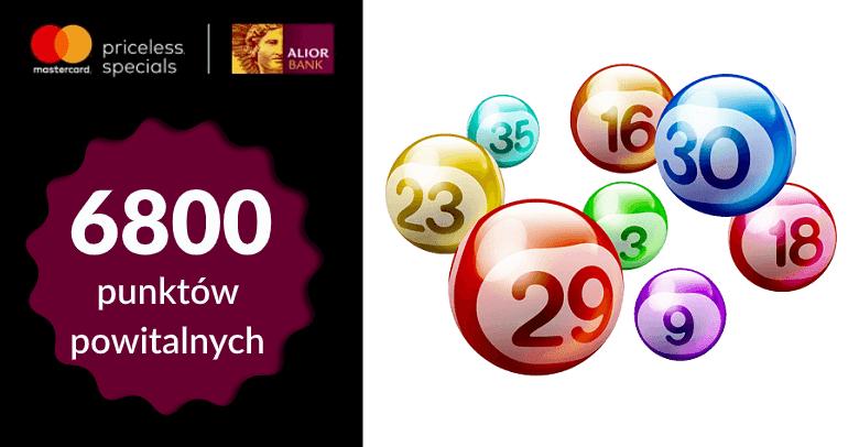 6800 punktów powitalnych Mastercard Priceless Specials dla klientów Alior Banku
