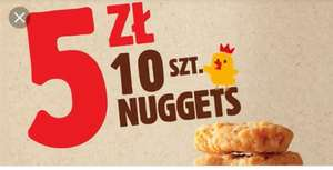 10 nuggetsow Burger King
