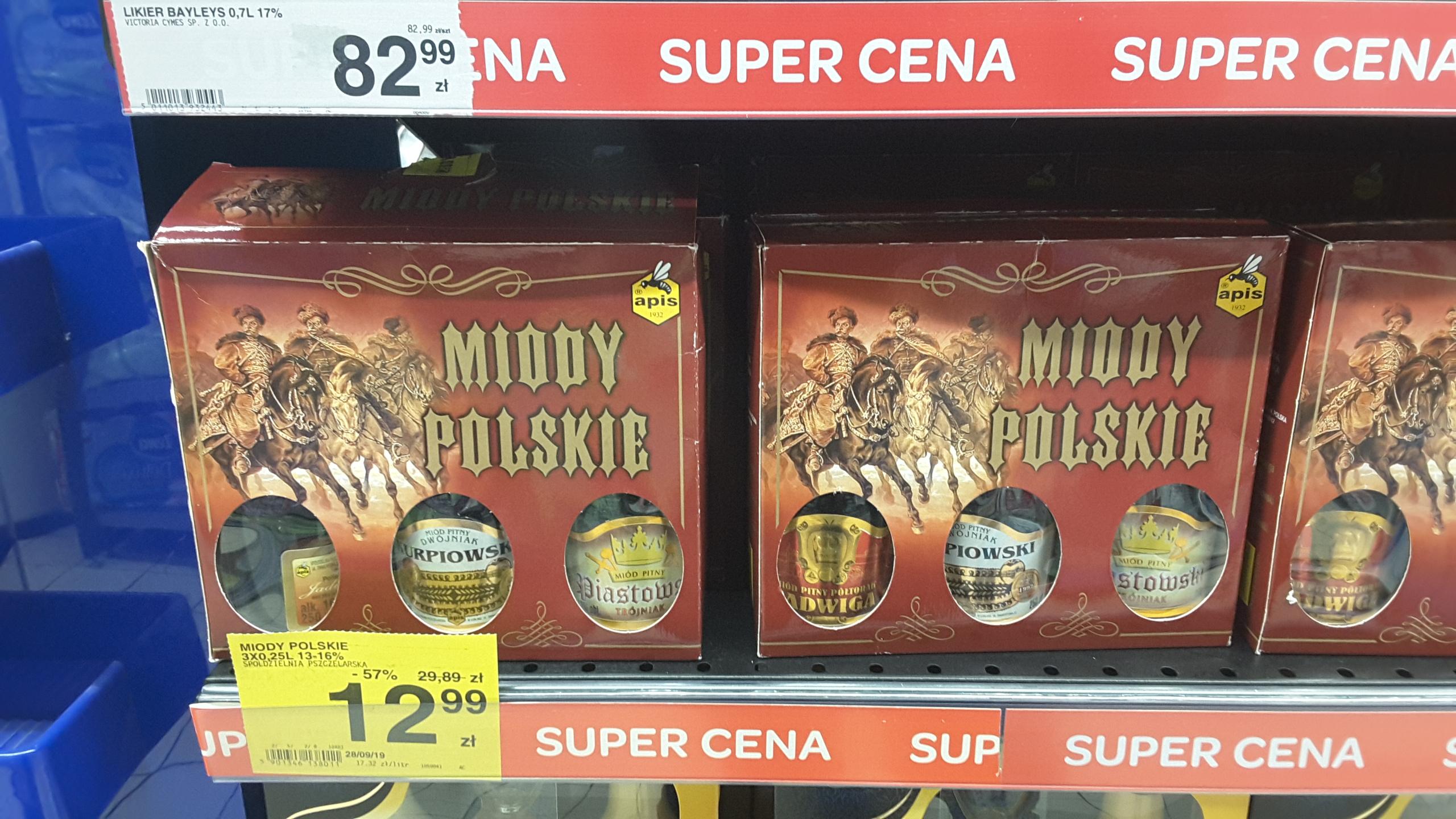 Zestaw Miody Polskie, Carrefour