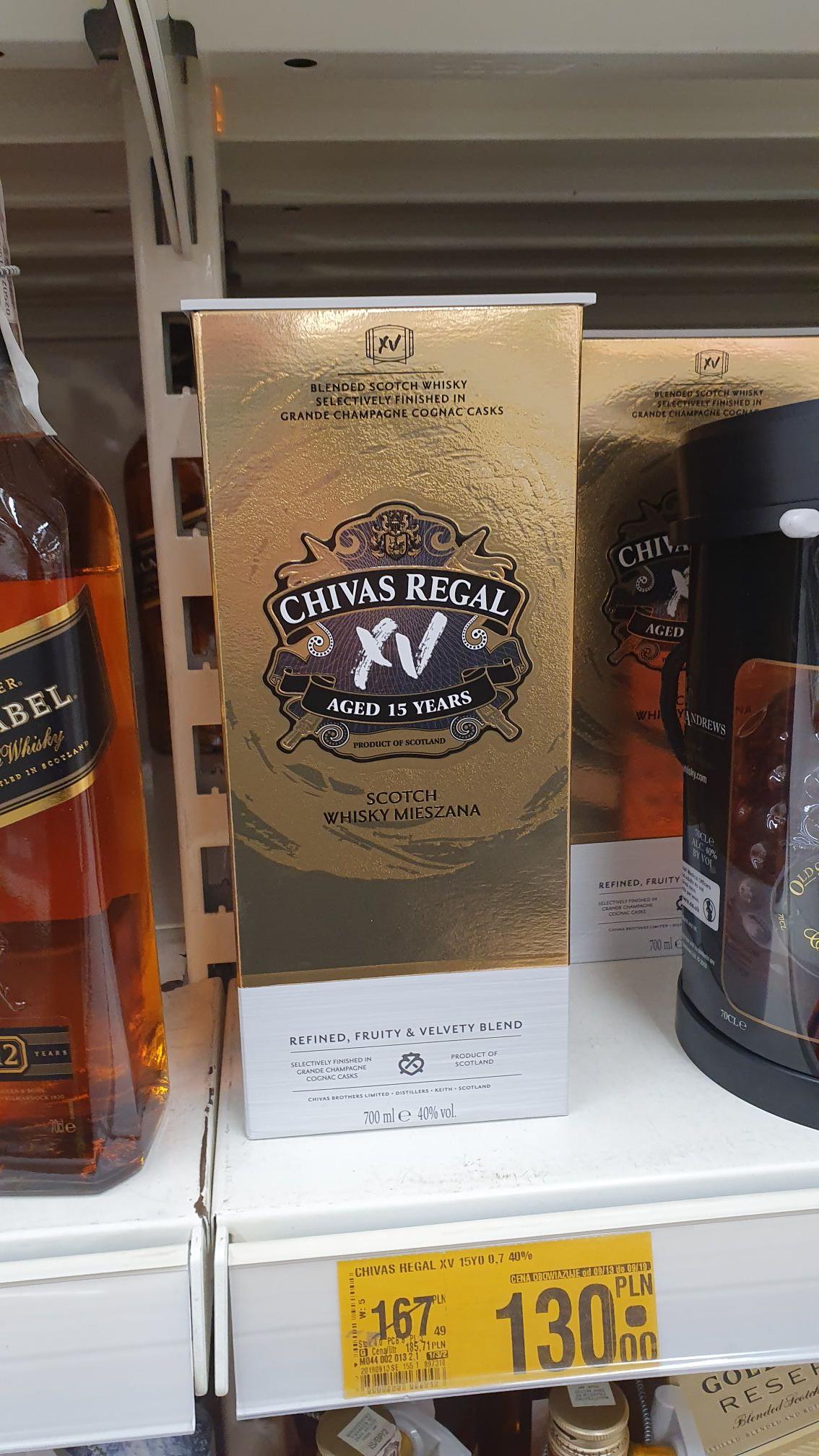 Chivas Regal XV - Auchan