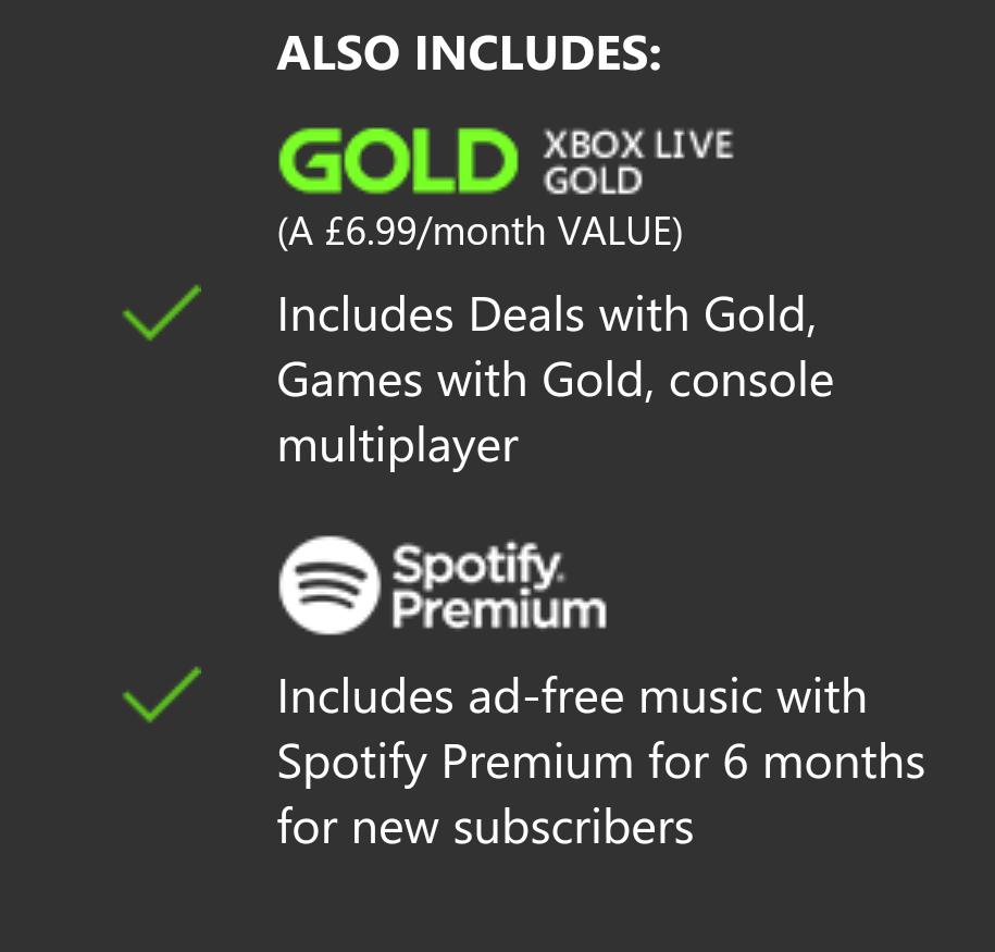 XBOX pass Ultimate + 6 miesięcy Spotify  Tylko dla nowych