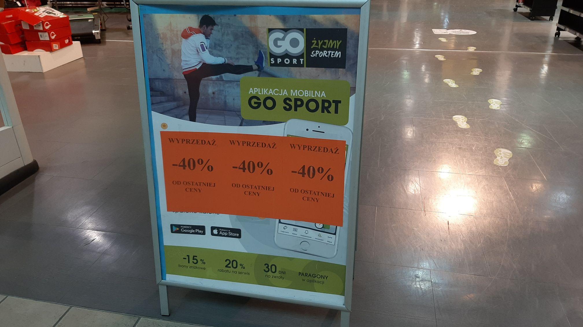 Likwidacja Go Sport w M1 Krakow!