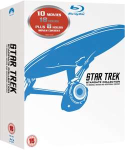 Star Trek 1-10 -> Remastered Box (Blu-Ray) @ Zavvi