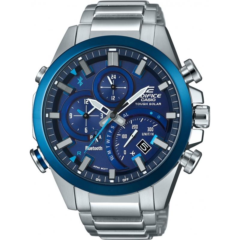 Zegarek Casio Edifice EQB-501DB-2AMER (Ładowanie solarne, Bluetooth) @ Watches2U