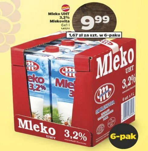 mleko kartonowe @ Netto i Lidl