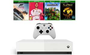 XBOX ONE S 1TB All-Digital Edition + Sea of Thieves + Minecraft + Forza Horizon 3 + FIFA 20 (DRUGI PAD GRATIS!)