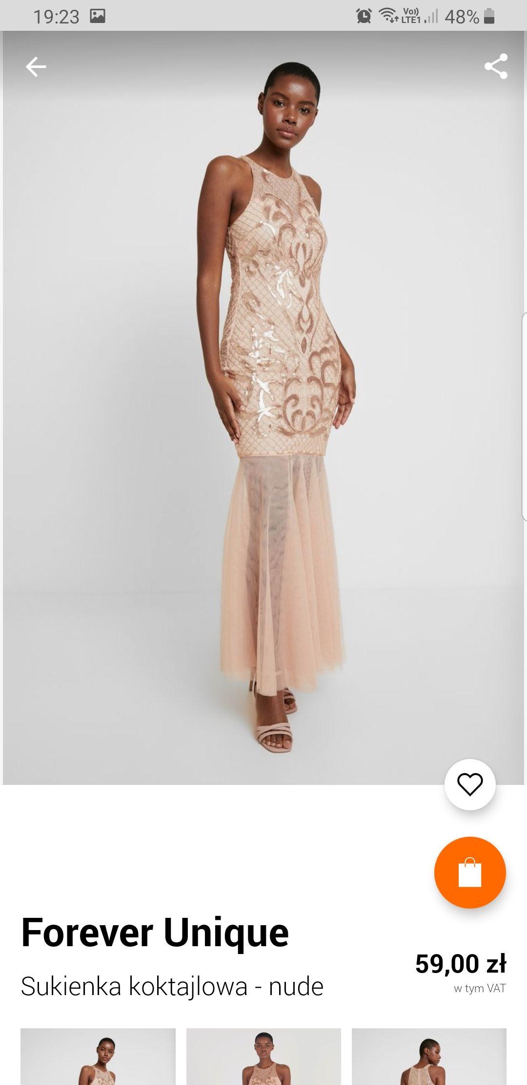 Błąd cenowy Zalando sukienka