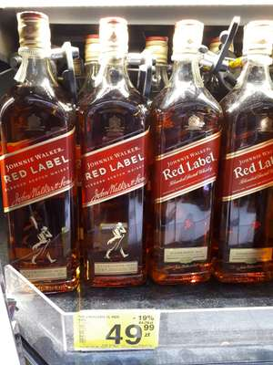 Johnnie Walker RED 1L - Carrefour