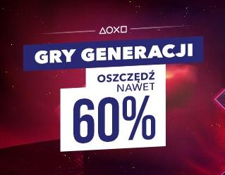"""Nowa Promka w PS STORE """"Gry Generacji"""""""