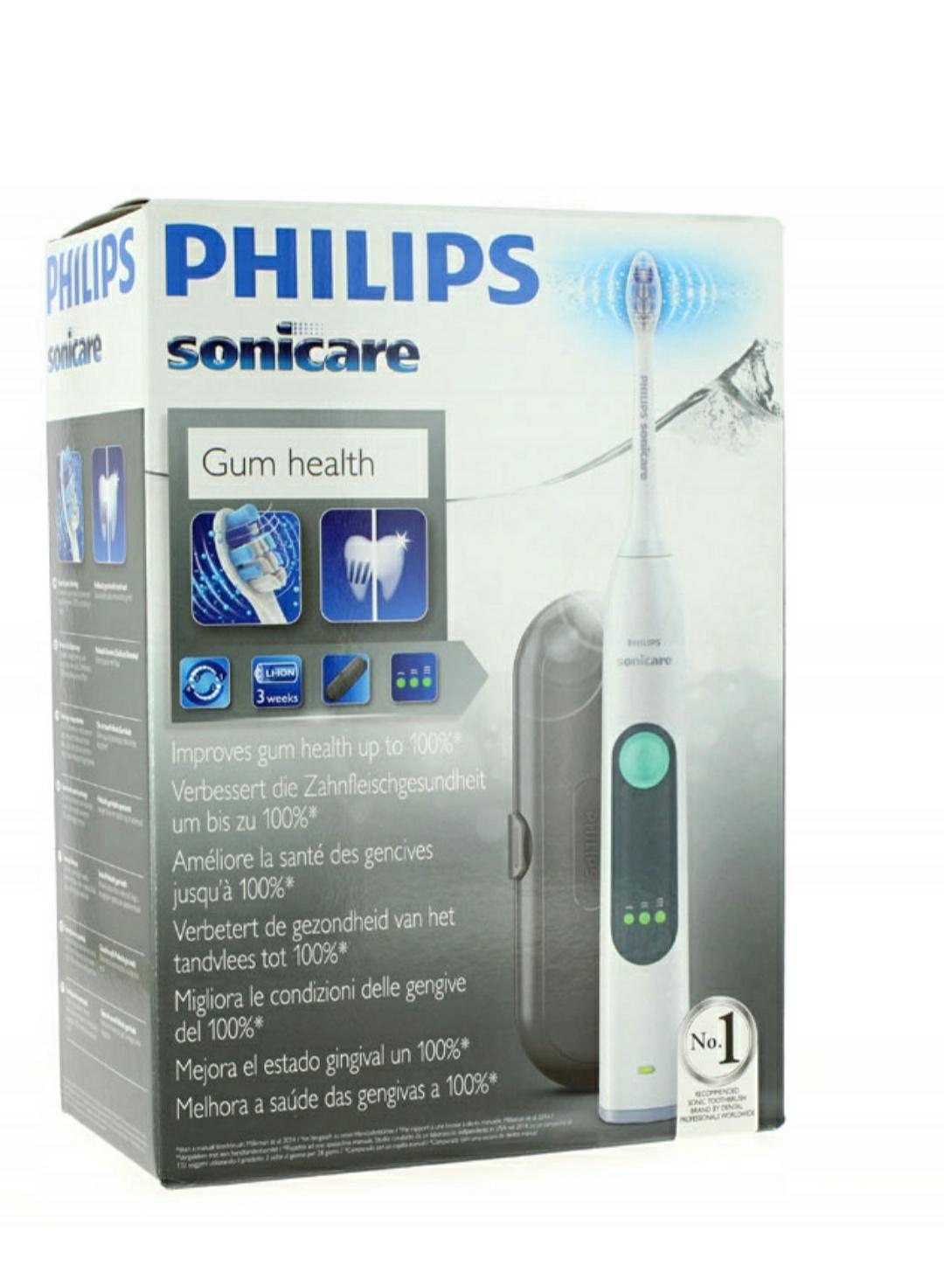 2x szczoteczki soniczne Philips HX6611/27  - 147.45 za sztukę