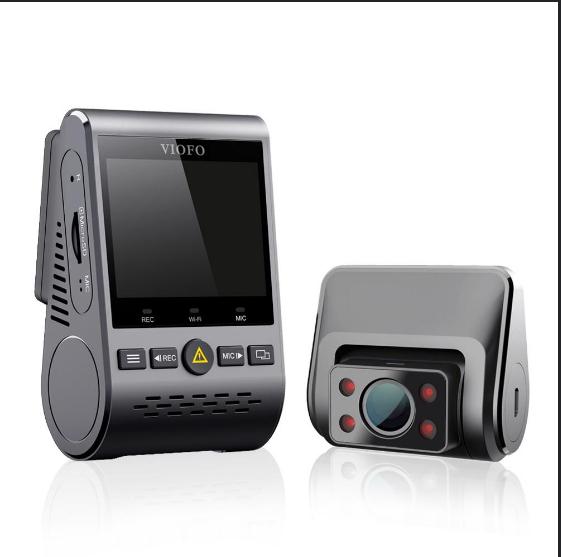 Wideorejestrator VIOFO A129 IR Duo za $125.99 / ~497zł