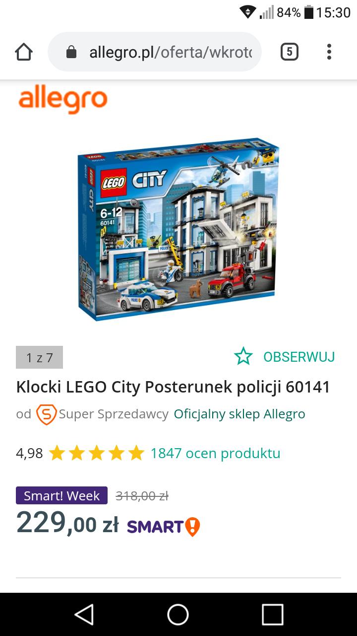 Lego Posterunek Policji