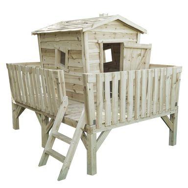 Domek drewniany Nevada 180 x 240 x 208 cm - lokalnie Swadzim