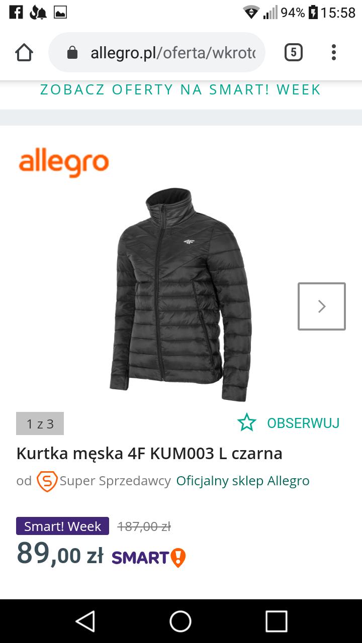 Kurtka 4f KUM003