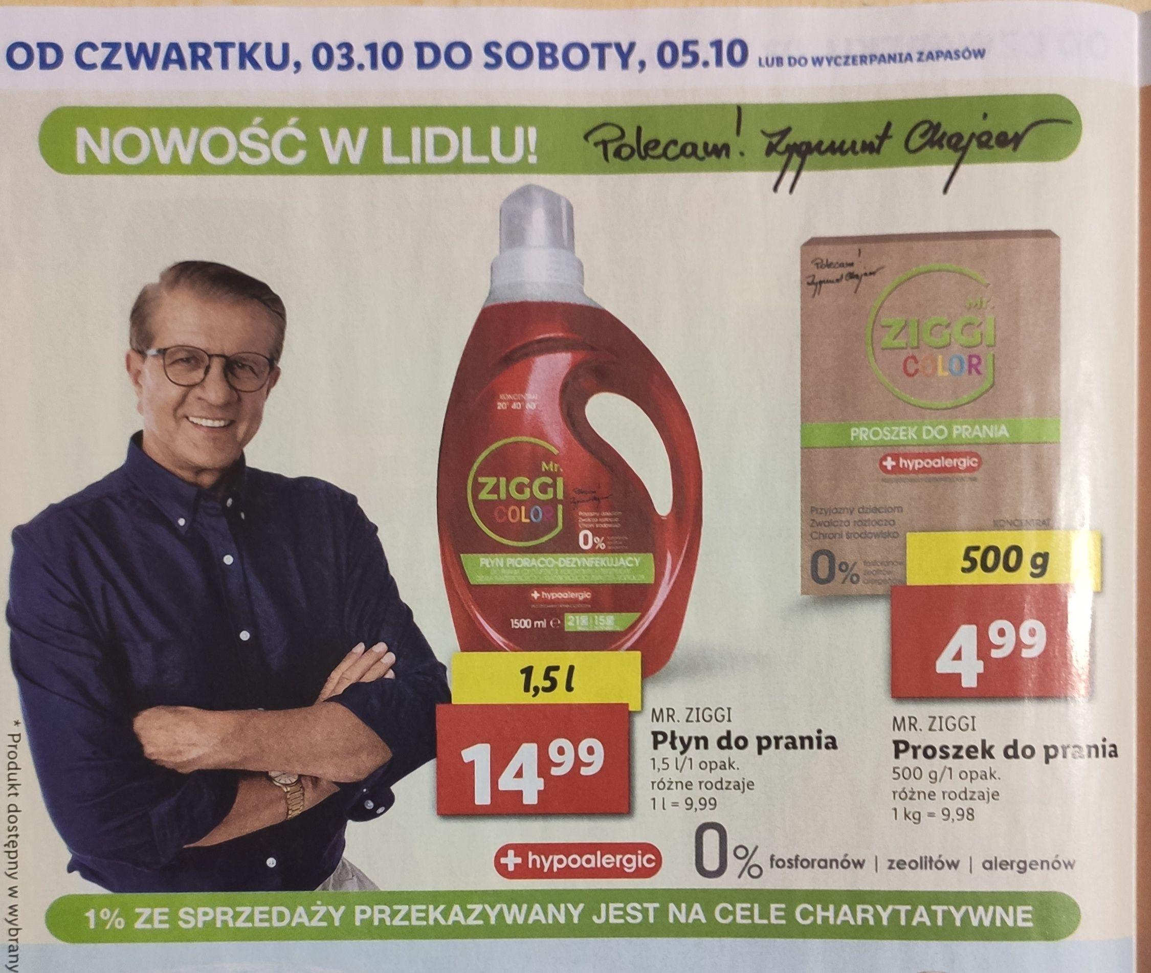 Płyn do prania MR. ZIGGI