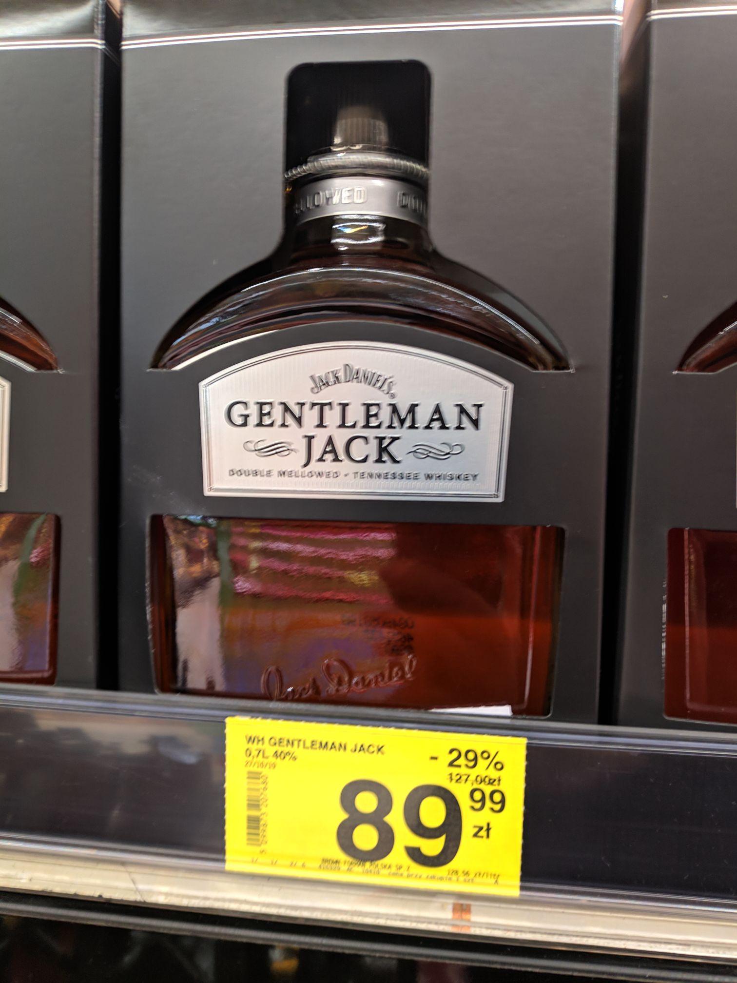 Gentleman Jack, Jack Daniels 1 L i inne @ Carrefour