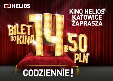 Tanie bilety w Helios Katowice