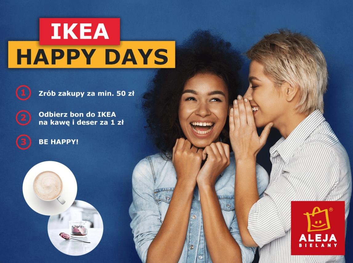 Zrób zakupy za 50 odbierz bon na deser i kawę do IKEA Wrocław