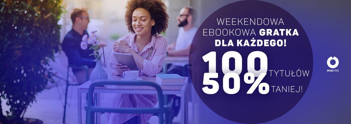 100 ebooków 50% taniej @ Onepress