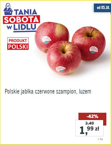 Tania sobota w @Lidl m.in. jabłka za 1,99zł/kg
