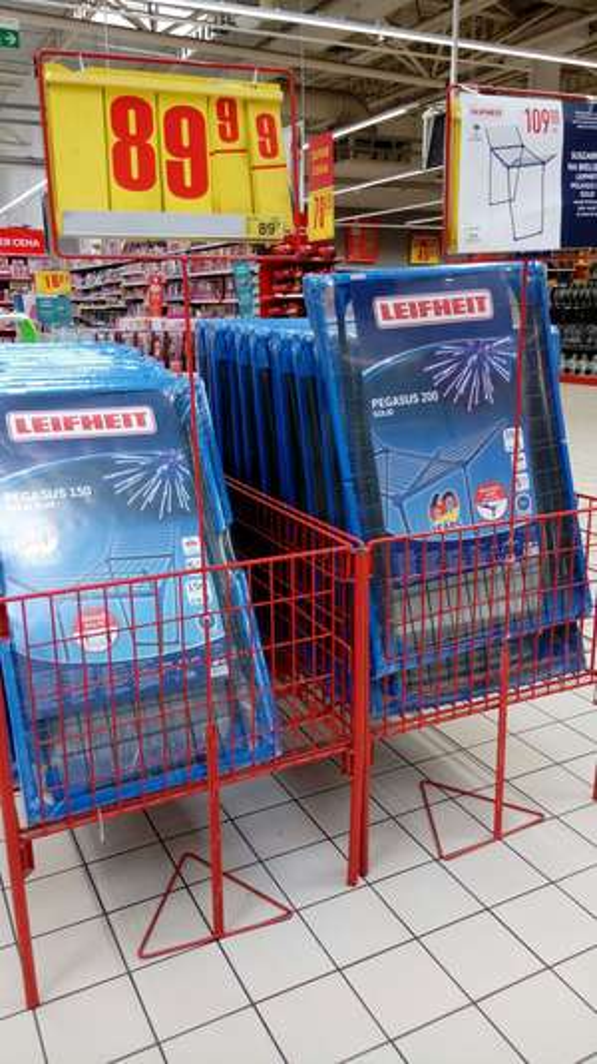 Suszarka LEIFHEIT Pegasus 150 Carrefour
