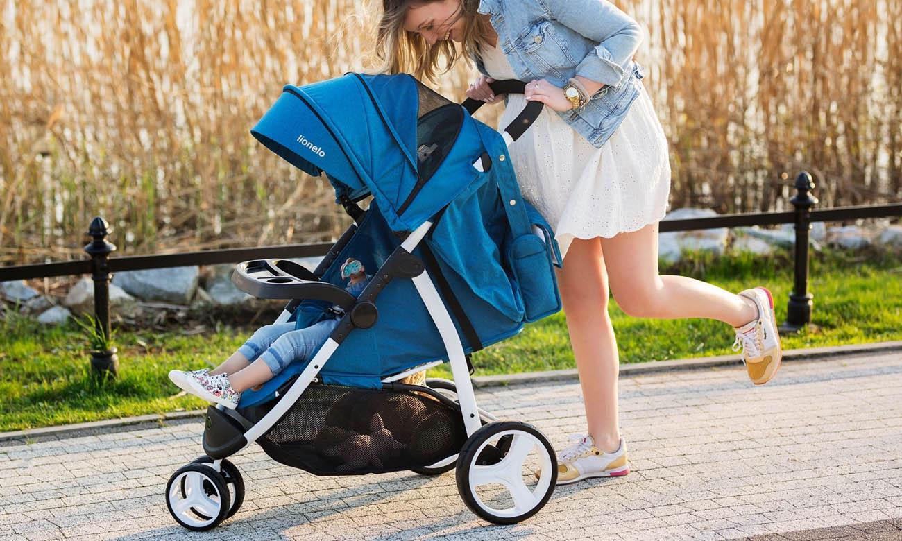 Wózek / spacerówka z daszkiem Lionelo Liv Blue