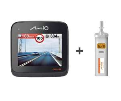 Videorejestrator Mio MiVue 568 GPS + Alkomat za 449 zł @ x-kom