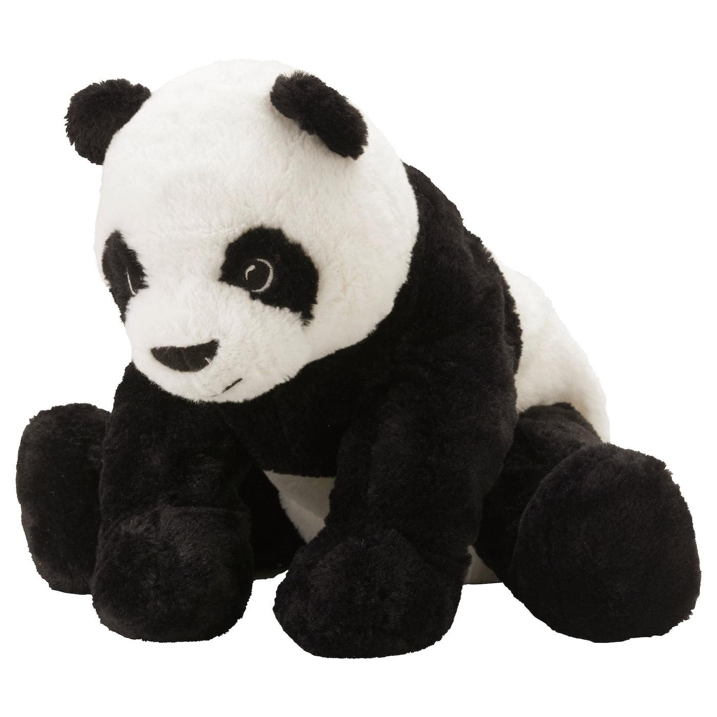 Pluszowa panda KRAMIG za 14.99. Ikea