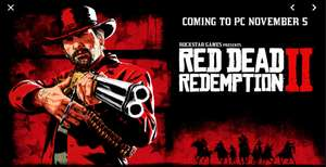 Red Dead Redemption 2 trafi na PC już 5 listopada!