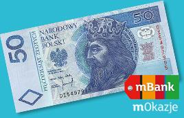 50zł w gotówce za zakup Nju z rachunkiem (dla klientów Mbanku) @ Nju