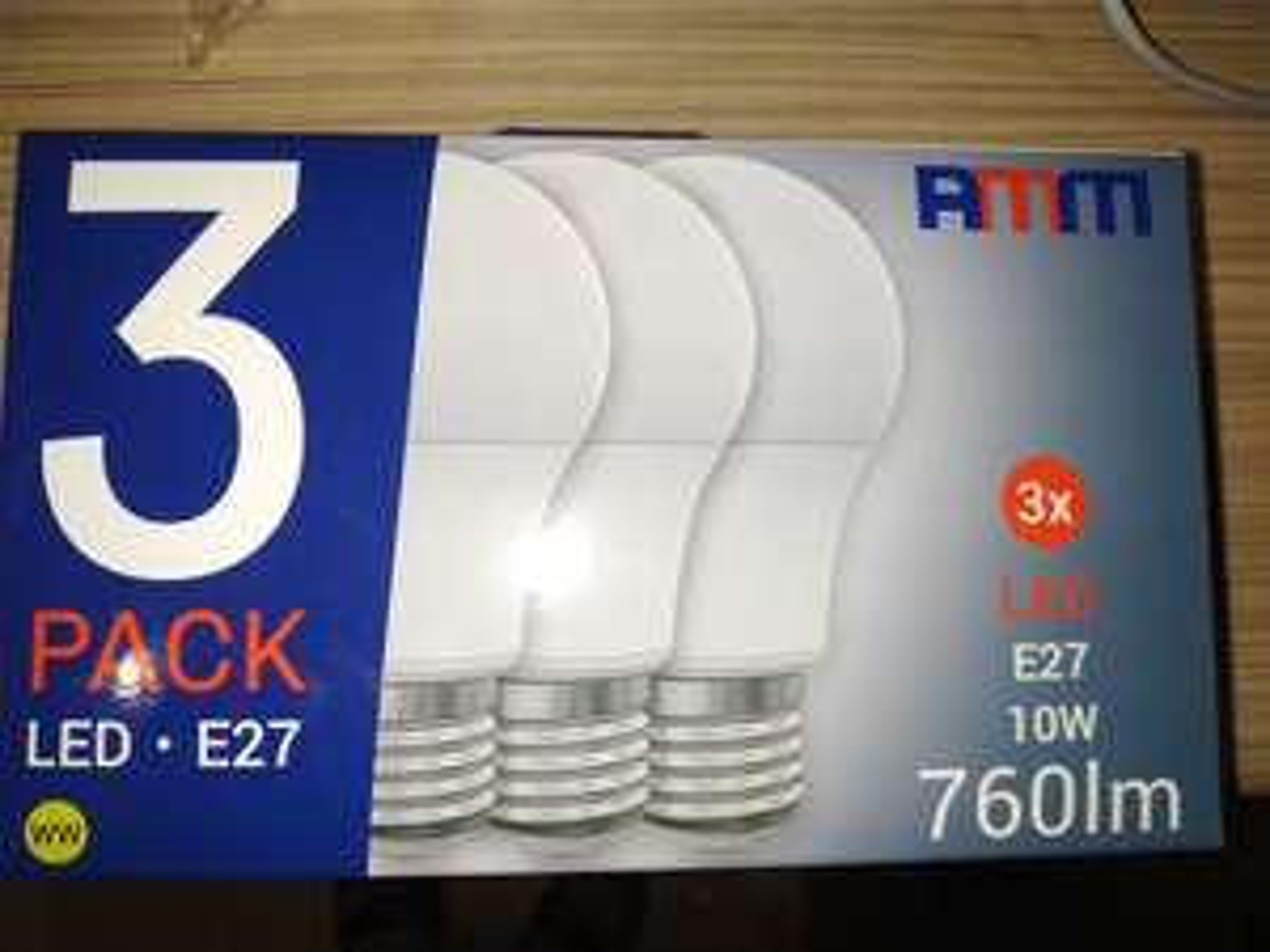 Żarówka LED AMM-E27-A60-10W-WW-TRIO-II 3sztSklep Dealz