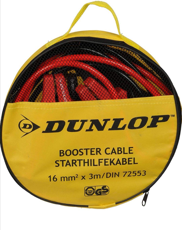 Kable przewody rozruchowe Dunlop Tesco