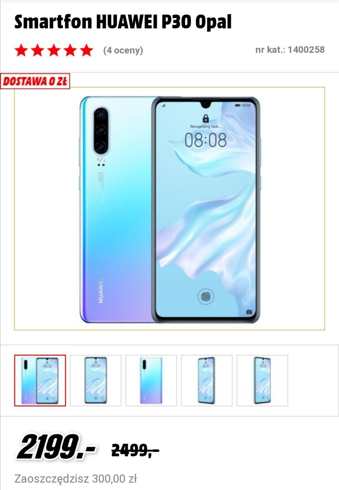 Huawei p30 za 2199 w media markt