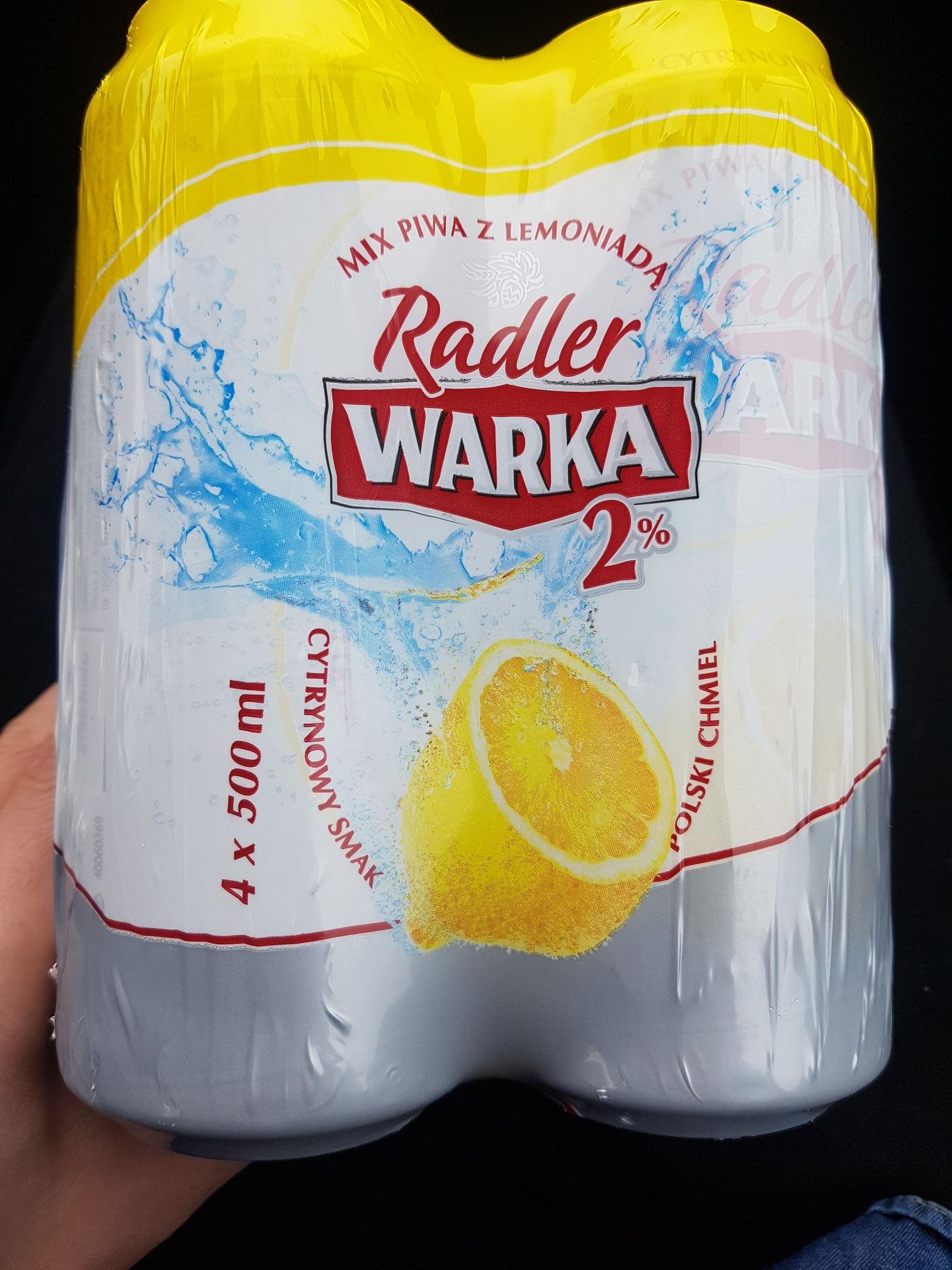 Warka radler cytrynowa 2% - Lidl