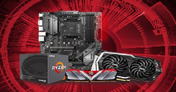 AMD RYZEN 7 3700X - Weekend z AMD