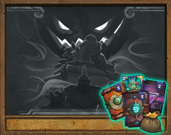 """5 pakietów kart za zalogowanie się do Hearthstone w trakcie wydarzenia """"Nawiedzony grobowiec""""za darmo PC"""