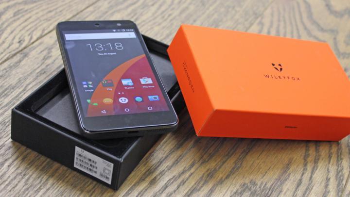 "Smartfon Wileyfox Swift (LTE, 5"", Cyanogen, 2GB RAM, Snapdragon 410, Dual-Sim, aparat 13MP) @ Amazon.co.uk"