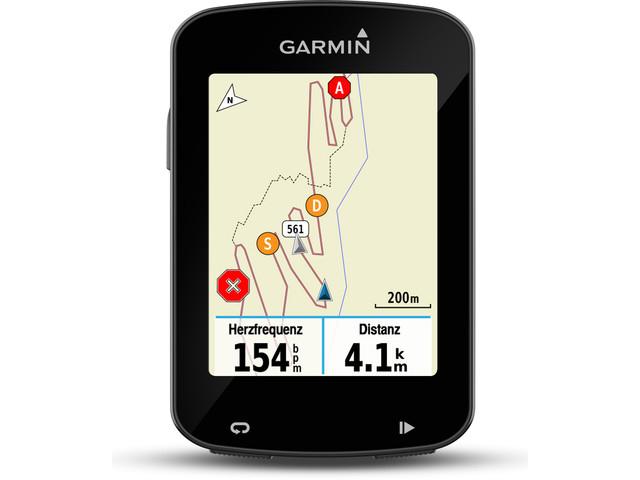 Garmin Edge 820 GPS - licznik rowerowy / komputer rowerowy z GPS, mapami i nawigacją, obsługa czujników ANT+, Strava