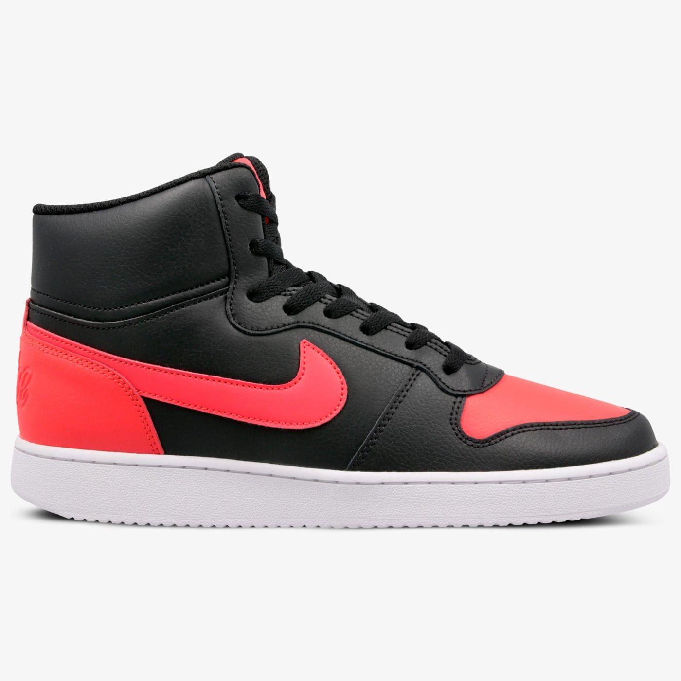 Nike Ebernon Mid Red @50style