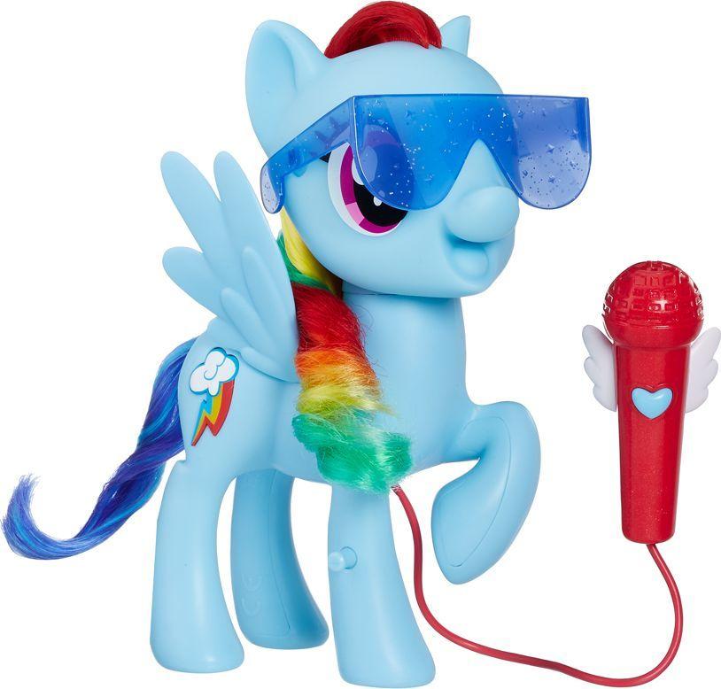 My Little Pony Śpiewająca Rainbow Dash E1975 Hasbro, zabawka dla dziewczynki