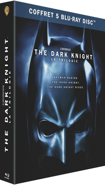 The Dark Knight: Trilogy za ok. 73zł @ Amazon.fr