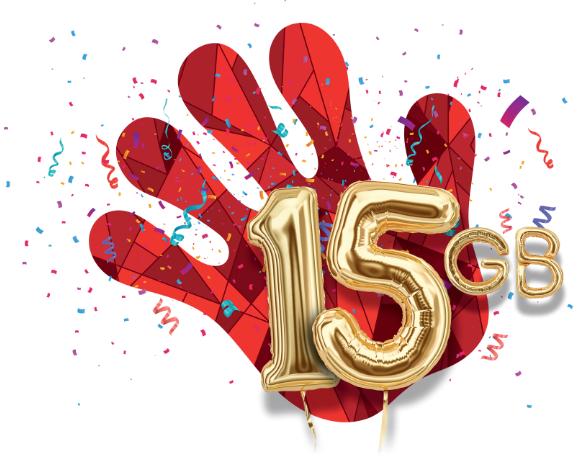 HEYAH urodzinowe 15GB na 30dni do końca miesiąca