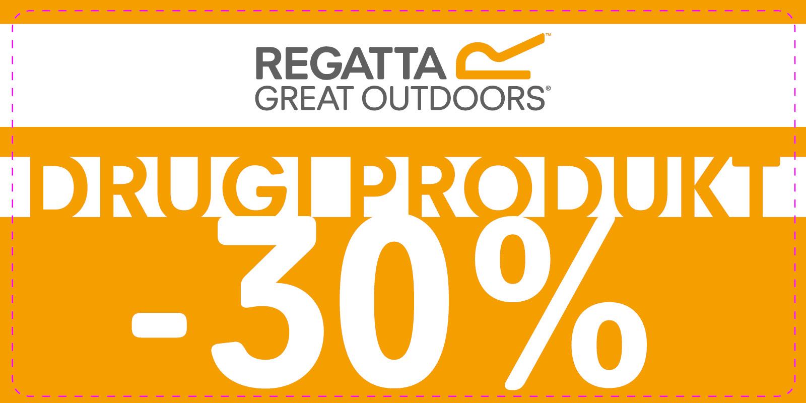 Drugi produkt 30% taniej @ Regatta