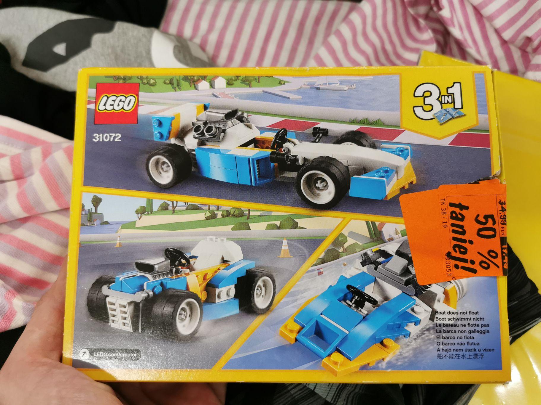Lidl klocki Lego 31072