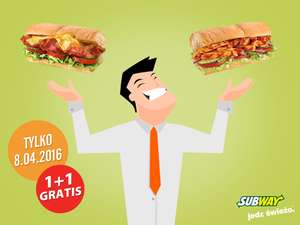 Druga kanapka GRATIS @ Subway