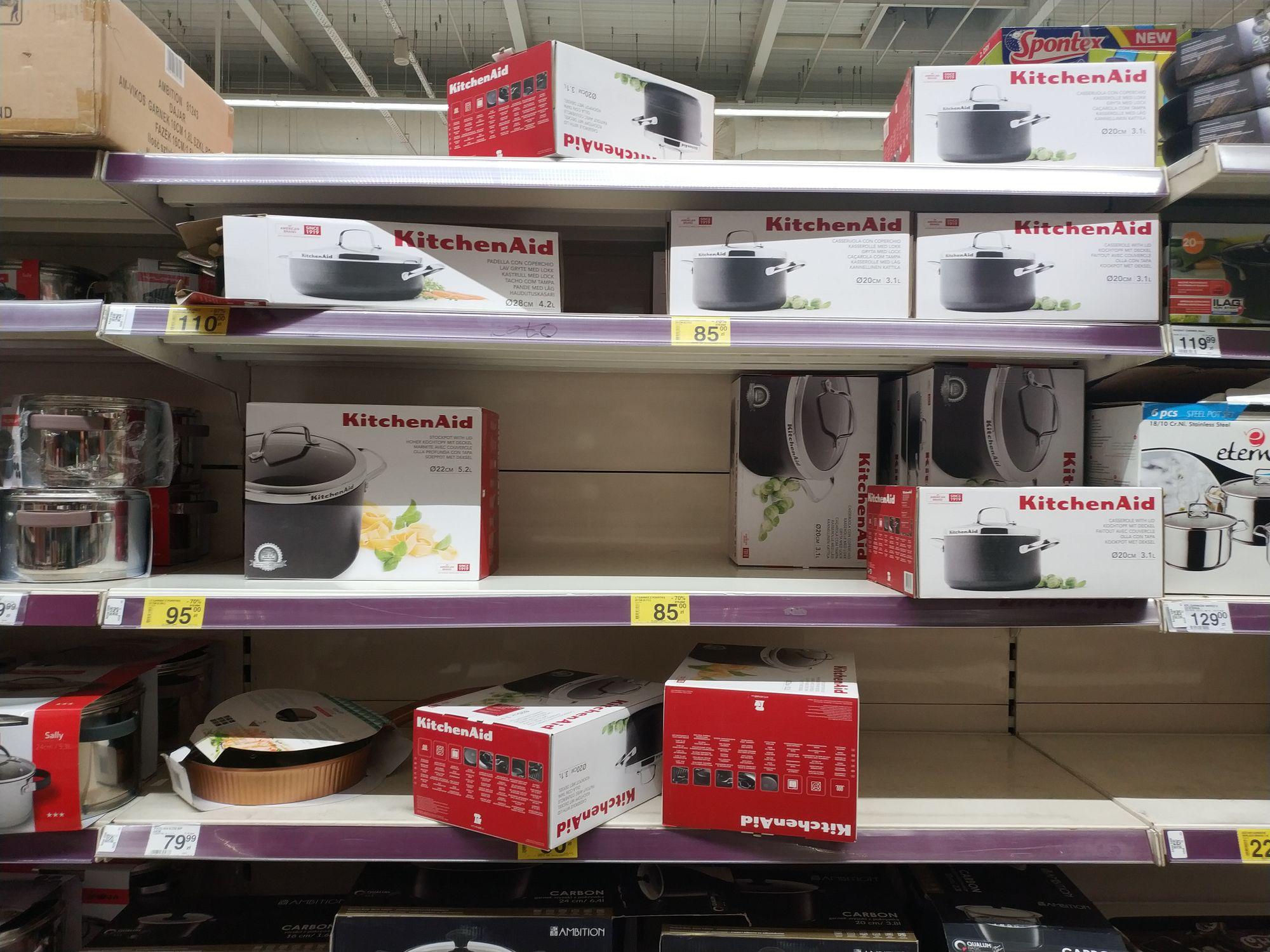 Garnki Kitchenaid za 30% ceny w Carrefour Plejada Sosnowiec