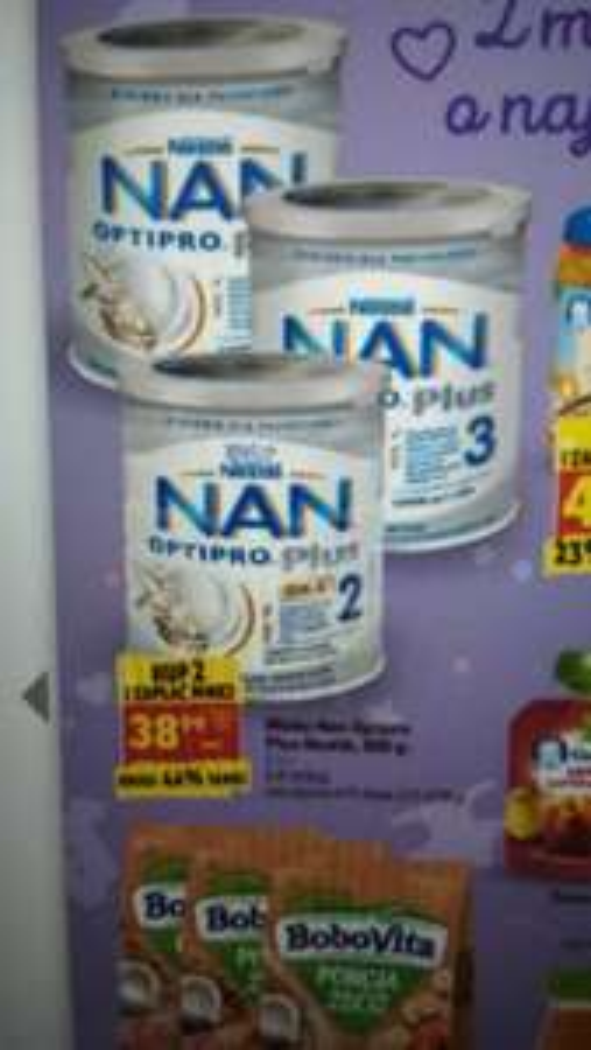 Mleko Nan Optipro Plus 2,3,4 - Biedronka