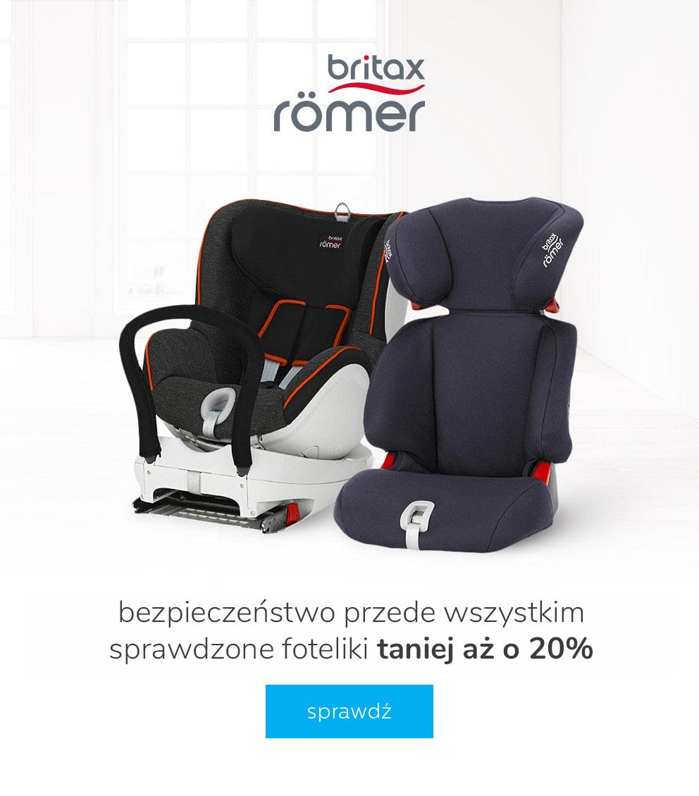 20% rabatu na fotelik do samochodu Britax Romer