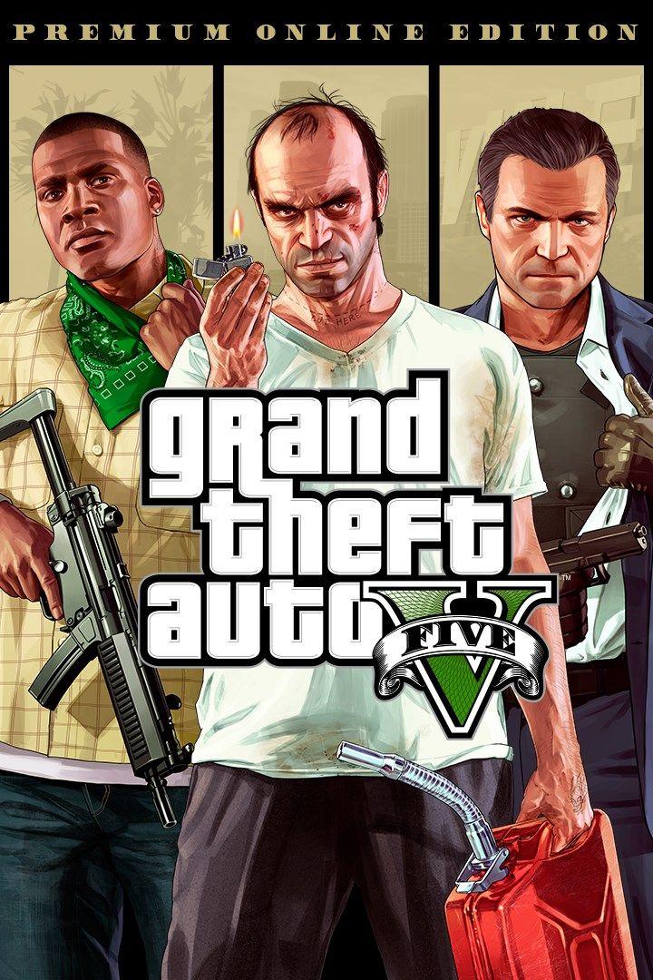 Edycja Premium Online Grand Theft Auto V (PS Store)