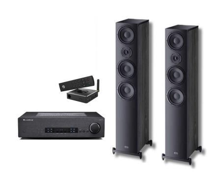 Stereo Cambridge Audio CXA60 + iEAST M30 + Heco Aurora 700